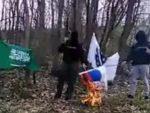 БАЊАЛУКА: Исламисти пале српску заставу у БиХ