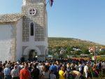 БЛАГАЈ: Освештана црква Св. Василија Острошког и Тврдошког
