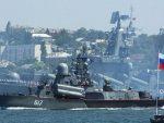 ПУТИНОВА СИЛА: Испловила Црноморска флота