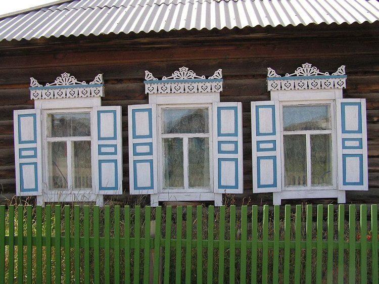Brvnara u selu Huzir na ostrvu Oljhon u Bajkalu