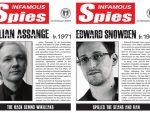 """ПЕНТАГОН: Сноуден и Aсанж на потерници """"Oзлоглашени шпиjуни"""""""