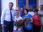 ЛОПАРЕ: Додик посјетио Јоку Миловановић, мајку три погинула борца