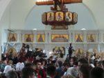 ЈАСЕНОВАЦ: Патријарх васељенски Вартоломеј и патријарх Иринеј служили литургију