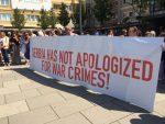 СМЕТА ИМ СРПСКИ КАНДИДАТ: Протест у Приштини против Вука Јеремића