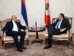 БАЊАЛУКА: Предсједник Додик разговарао са лидером ДФ Андријом Мандићем