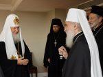 СУСРЕТ РУСКОГ И СРПСКОГ ПАТРИЈАРХА: Братски однос двије цркве
