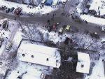 РУСКА ЗИМА: Снег и лед оковали Москву, отказано 30 летова