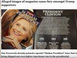 """ПРЕРАЧУНАЛИ СЕ: """"Њузвик"""" прогласио Клинтонову новим председником САД"""