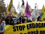 ПАРИЗ: Хиљаде Курда протестује због хапшења посланика у Турској