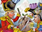 ПУТИН ОПЕТ НА НАСЛОВНИЦИ БРИТАНСКОГ ЧАСОПИСА: Дели свет са Трампом