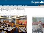 """""""ГАРДИЈАН"""": Препреке за чланство ЦГ у НАТО уочи сједнице Сената"""