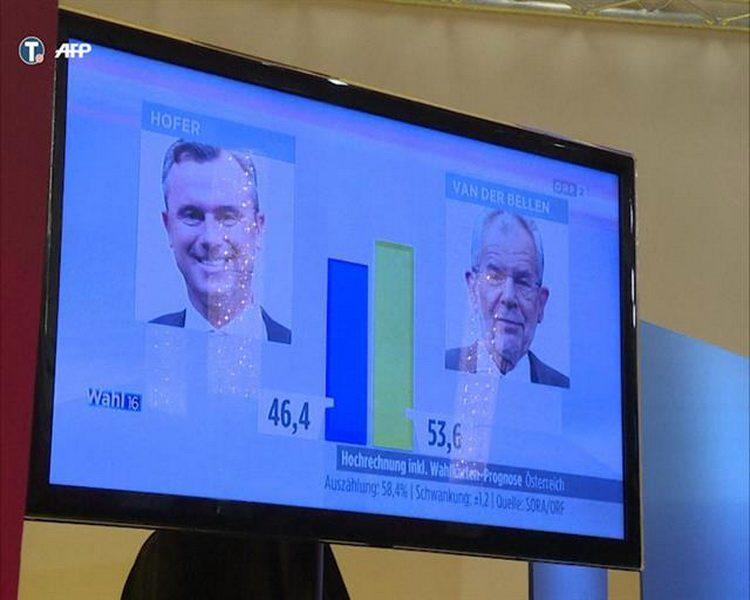 БEЧ: Aустриjа се одлучила за Ван дер Белена, Хофер признао пораз