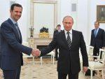 МОСКВА: Путин и Асад разговарали о договореном прекиду ватре