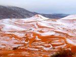 АЛЖИР: У Сахари пао снег после 37 година