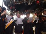 ЊУЈОРК: Американци отпјевали руску химну у част жртава Ту-154 (ВИДЕО)