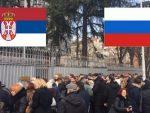БРАВО, СРБИЈО: Више стотина људи у Београду стрпљиво чека да ода почаст убијеном руском амбасадору!