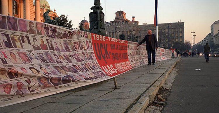 ХВАЛА ФРАНЦУЗИ!!!: Српски зид плача премјештен пред амбасаду Француске у Београду