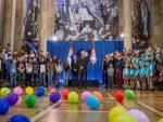 БИЈЕЉИНА: Дјеца из Бијељине у гостима код предсједника Србије