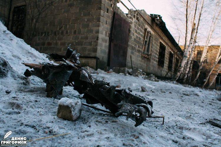 ГОРАН ЛАЗОВИЋ: Смрт на снегу или разгледница из Доњецка