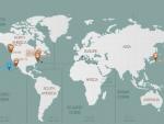 ОВО ЈЕ СЛИКА РУСКЕ ДОМИНАЦИЈЕ: Погледајте где су тренутно амерички носачи авиона!