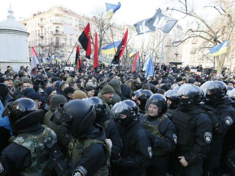 ПРОТЕСТИ У ЊУЈОРКУ: Обама и Сорош организовали пуч у Украјини