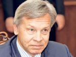"""ПУШКОВ: Порошенко није """"калибар"""" који би ушао у """"тотални рат"""" са Русијом"""