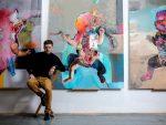 """""""ИНИТИУМ"""": Свечано отварање изложбе слика Марка Кусмука у Галерији УЛУС"""