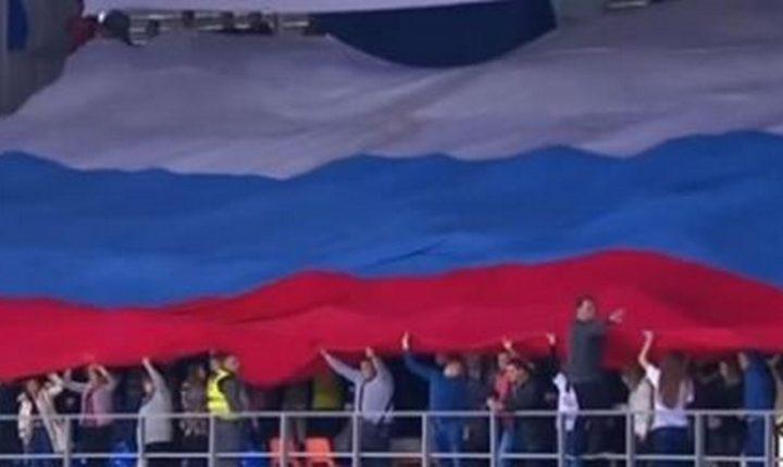 ДЕЈВИС КУП: Грмеле химне Србије и Русијe, а навијачи направили спектакл са заставом
