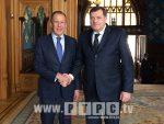 ЗАХВАЛНОСТ РУСИЈИ: Додик у Москви, планиран сусрет са Сергејем Лавровим
