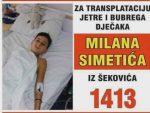 ШЕКОВИЋИ: Неопходна помоћ за лијечење тешко обољелог дјечака Милана Симетића