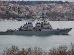 ЦРНО МОРЕ: Објављен снимак пролетања руских ловаца поред америчког разарача