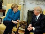 ВАШИНГТОН: Трамп одбио да пружи руку Ангели Меркел у Овалној соби