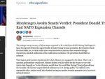 ФОРБС: Требало би да Трамп заустави шараду проширења НАТО-а