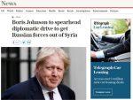 """ЕНГЛЕСКИ ЛИЦЕМЕРИ У АКЦИЈИ: """"Џонсон убеђује Г7 да протерају Путина из Сирије"""""""