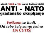 ЦРНА ГОРА: Сјутра у Никшићу анти-НАТО скуп
