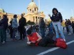БЕОГРАД: Перформансом почео још један протест