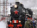 """РУСИЈА: Ешалони """"Армија победе"""" са техником из рата стигли у Јекатеринбург"""