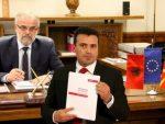 ОБЈАВЉЕН ТЕЛЕФОНСКИ РАЗГОВОР ЏАФЕРИЈА И ЗАЕВА: Албанци понижавају Заева и Македонце!