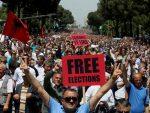 ПРИТИСАК НА ЕДИЈА РАМУ: Хиљаде људи на улицама Тиране