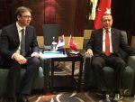 ПЕКИНГ: Вучић и Ердоган о економској сарадњи и ситуацији у региону