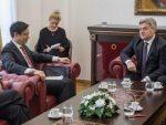 СКОПЉЕ: Македонски председник одбрусио и Американцима!