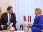БЕОГРАД: Неизвјестан долазак хрватске предсједнице на Вучићеву инаугурацију