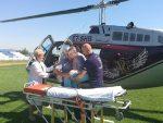ХВАЛА ПРЕДСЈЕДНИКУ: Мајка – херој Хеликоптерским сервисом превезена у Власеницу