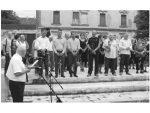 НИ МРТВИМА НЕ ДАЈУ МИРА: Хрватски ветерани ометали комеморацију убијеним Србима у Глини