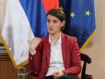 БЕОГРАД: Брнабићева предала Чепурину стенограм свог интервјуа