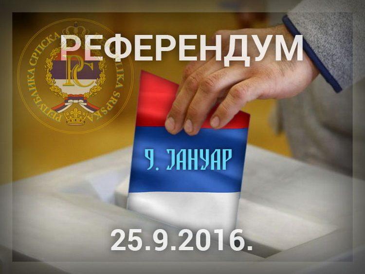 САРАЈЕВО: Подигнута оптужница против четири лица због референдума у Српској