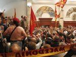 СКОПЉЕ: Нови хаос у Собрању – ВМРО блокирао парламент, Џафери позвао обезбеђење