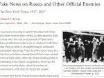 ЕДВАРД ХЕРМАН: ЛАЖНЕ ВЕСТИ О РУСИМА, СРБИМА и другим непријатељима…