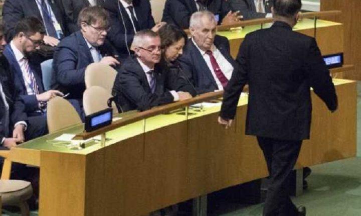 ЊУЈОРК: Изасланик Северне Кореје изашао из сале пре него што је Трамп стао за говорницу ГС УН