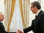 МОСКВА: Вучић са Путином 8. маја, присуствоваће и Паради побједе